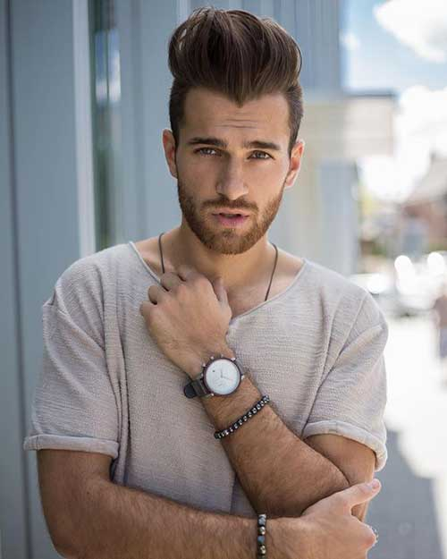 Pompadour Hairstyles for Men 2018-17