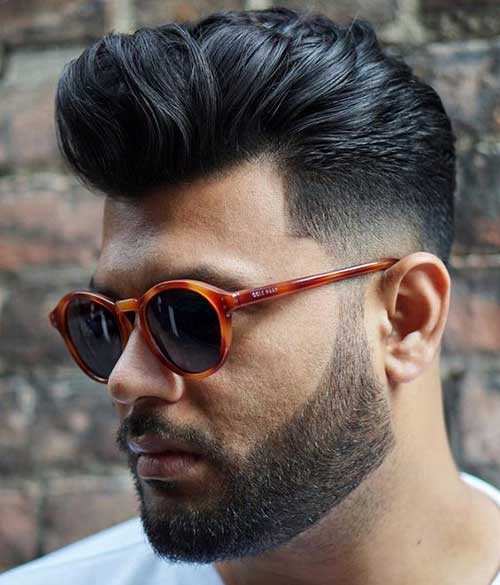 Pompadour Hairstyles for Men 2018-18