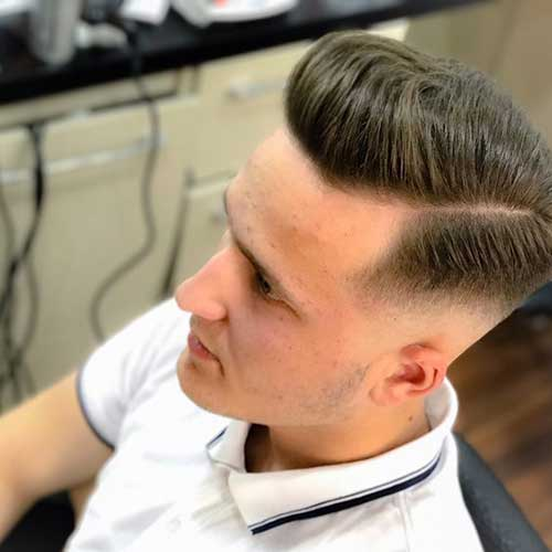 Pompadour Hairstyles for Men 2018-19