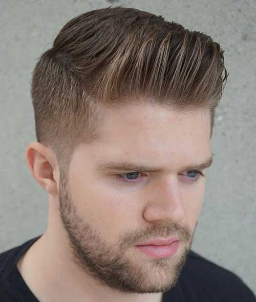 Pompadour Hairstyles for Men 2018-20