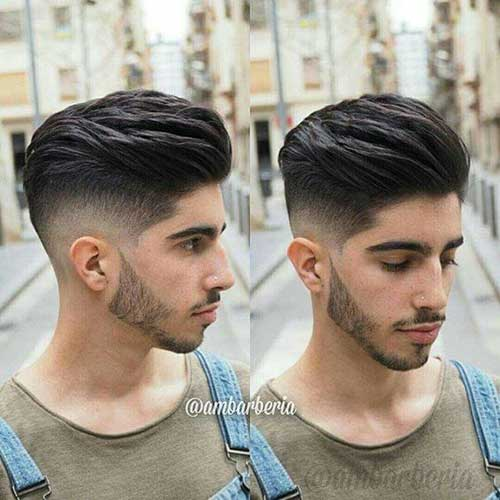 Pompadour Hairstyles for Men 2018-7