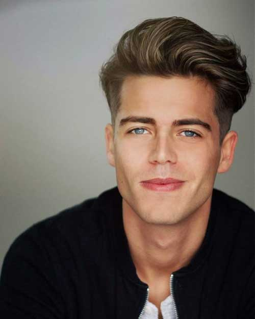 Pompadour Hairstyles for Men 2018-8