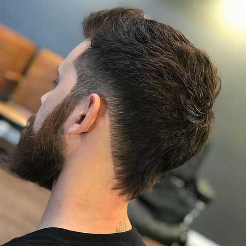 Back View of Short Haircuts for Men-9