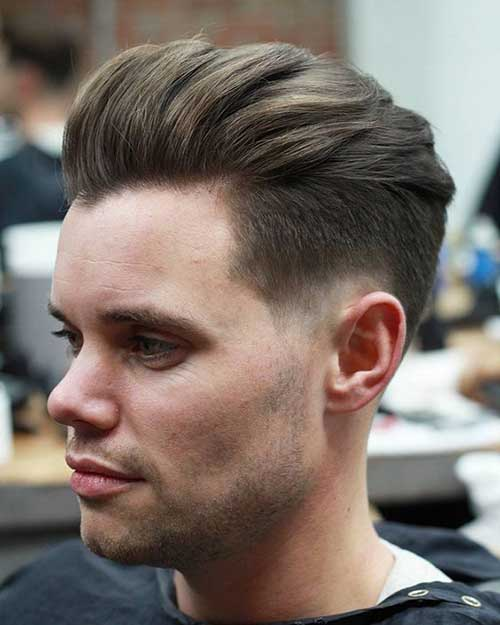 Pompadour Hairstyles for Men 2018-9