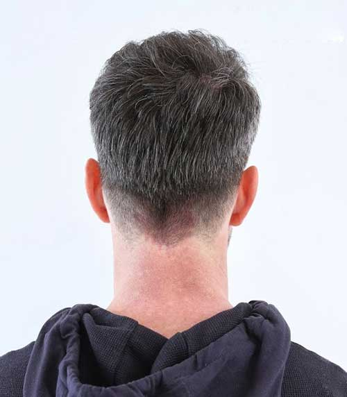 Back View of Short Haircuts