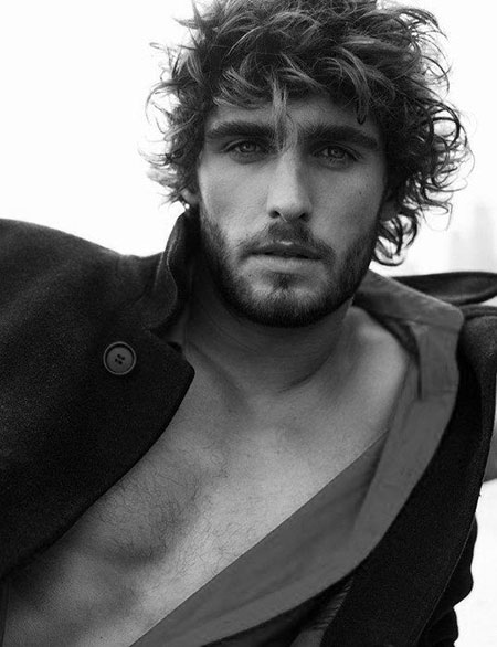 Messy Hairtyles for Men, Beach Harington Cool Awesome