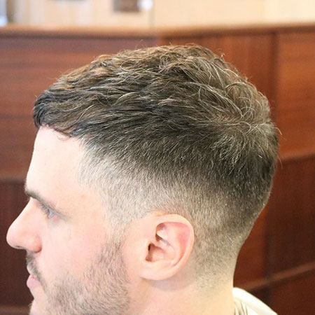 Very Short Hairtyles for Men, Fade Short Hair Mens