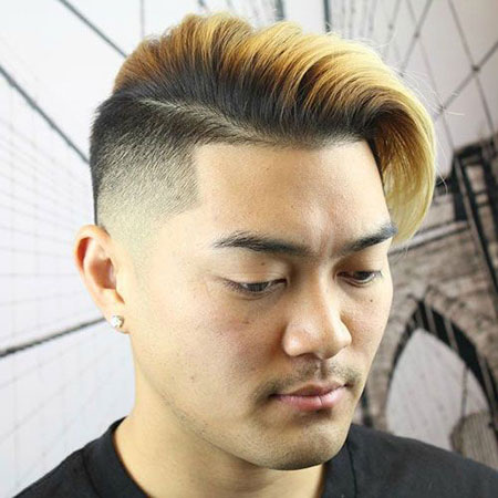 Face Round Haircut Mens