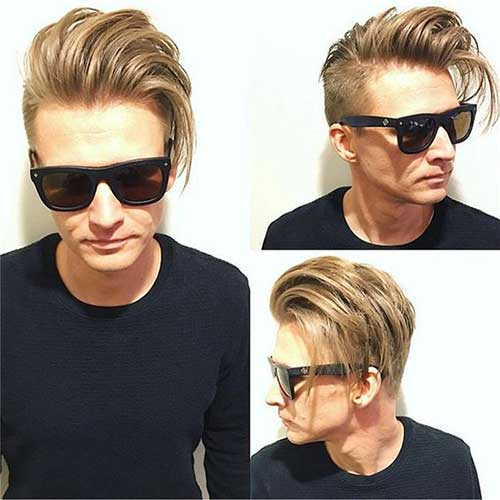 Medium Hairstyles for Guys 2018-12