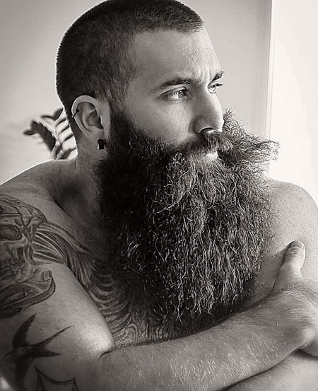 Beard Eyes Short Bärte