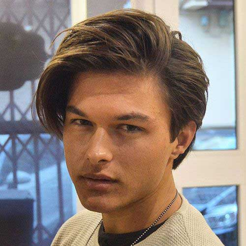 Medium Hairstyles for Guys 2018-16