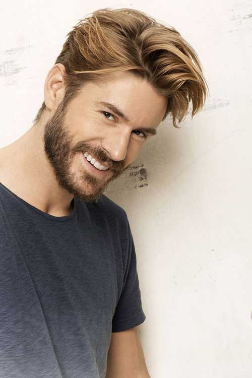 Medium Hairstyles for Guys 2018-17