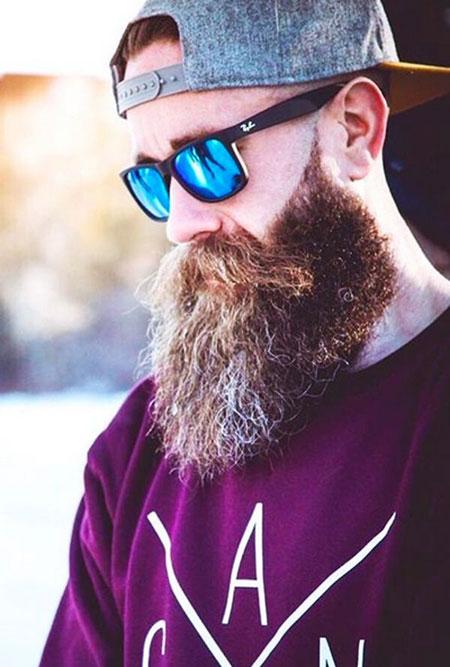 Sunglasses, Beard Face Round Style