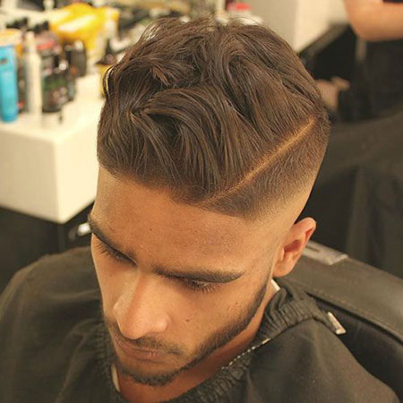 Messy Updo Mens, Messy Fade Hairtyles Easy