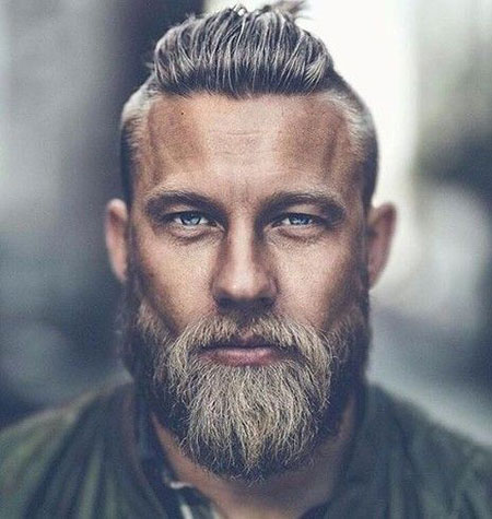 Hair and Beard Style, Beard Work Sexy Hairline