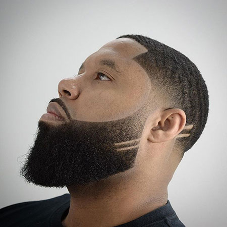 Different Beard Style, Fade Beard Design Taper