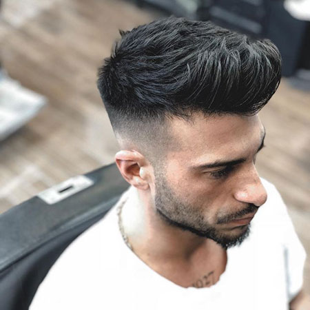 Quiff Fade, Fade Haircut Mens Hairtyles