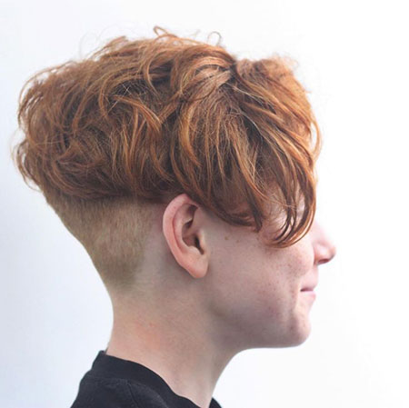 Red Hair, Pixie Boy Teen Hair