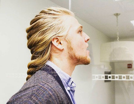 Long Blonde Hair, Clinton Hillary Hunnam Charlie