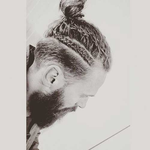Cool Braided Men Hairstyles-7