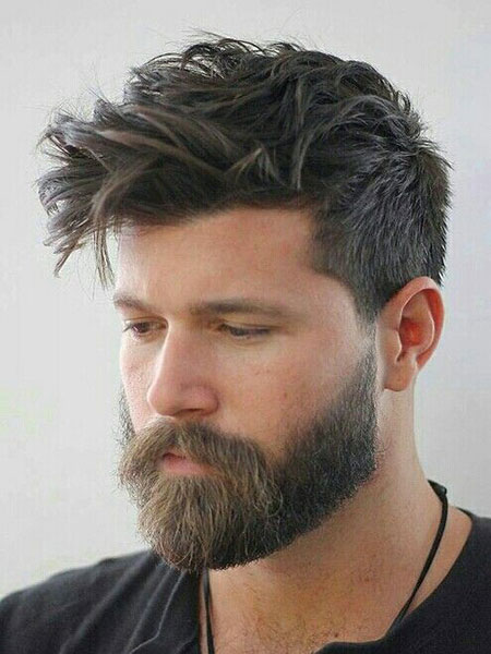 Beard Haircut Mens Hairtyles