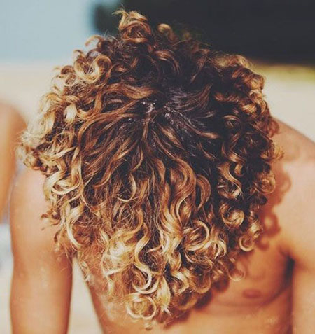 Curly Golden Hairtyles Hair