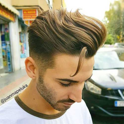 Medium Hairstyles for Guys 2018-9