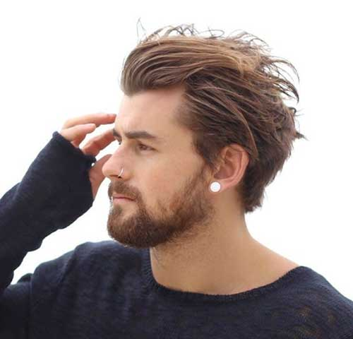 Medium Hairstyles for Guys