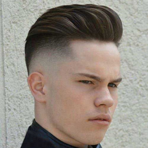 Long Top Short Sides Hairstyles for Men-12