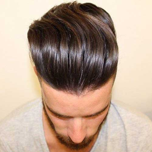 Long Top Short Sides Hairstyles for Men-6