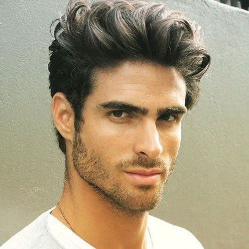 Medium Length Hairstyles Men-14