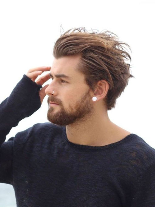 Medium Length Hairstyles Men-16