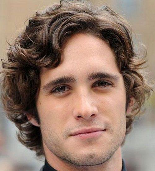 Medium Length Hairstyles Men-7