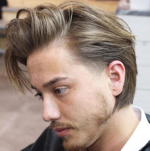 Medium Length Hairstyles Men-9