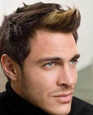 Faux hawk hairstyles for men pictures