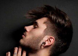 Mens haircuts short sides long top