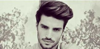 Cool sleek Brushed up Medium Hairstyle