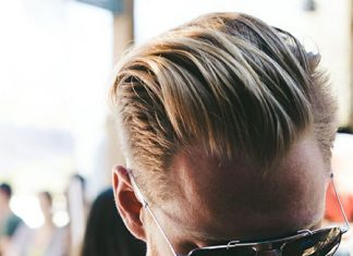 Blonde Hair Color for Men