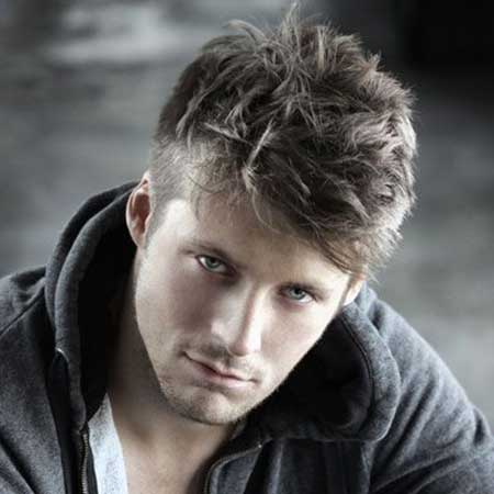 Mens Messy Hairstyles 2014