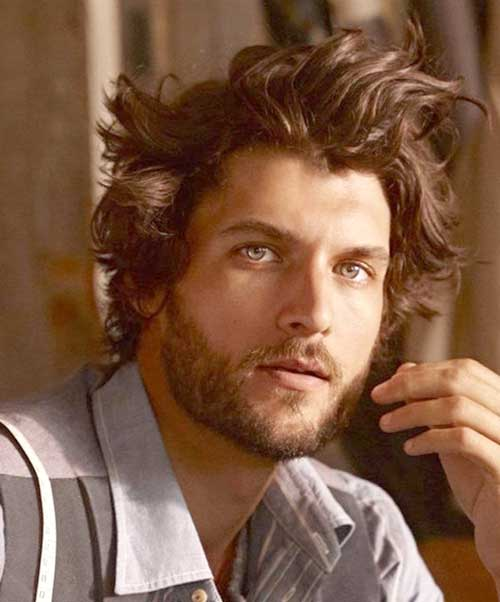 20 Messy Hair Styles For Men Mens Hairstyles 2018