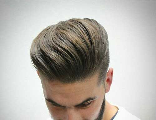 Casual Pompadour for Men