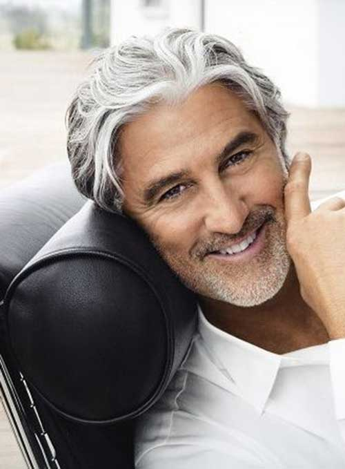 fee9aa20c1 53 magnificent hairstyles for older men men hairstyles world. Long  hairstyles for women over 40 can work if you have volume in your face