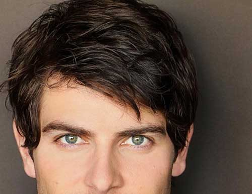 David Giuntoli Hairstyles for Thick Hair Men