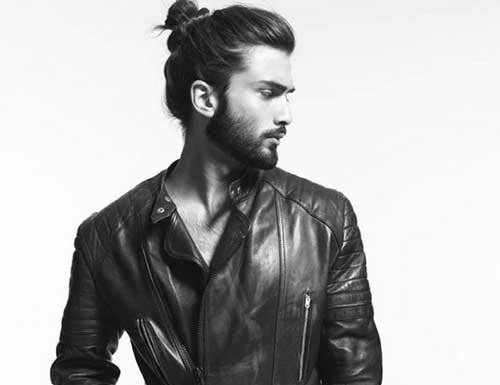 Man Bun Long Hairstyles Men