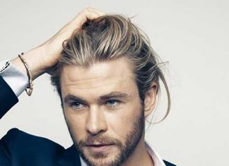 Chris Hemsworth Mens Hairstyles for Fine Hair