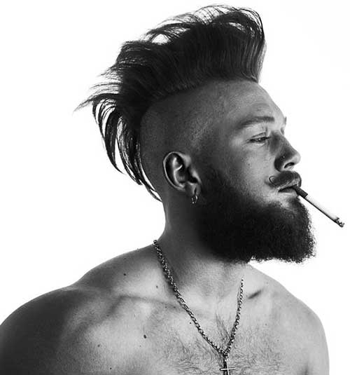 mohock hair style 15 mohawk hairstyle for mens hairstyles 2018 2964