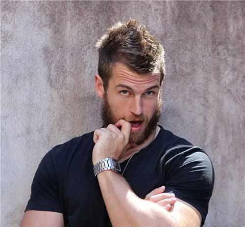 David Williams Mohawk Hairstyles for Men