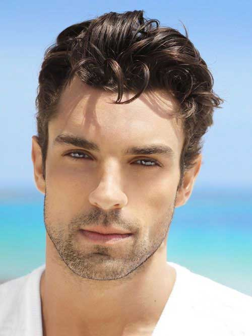 how to style thick curly hair mens 16 haircuts for wavy hair mens hairstyles 2018 3865