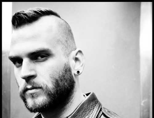 Side Shaved Mohawk Stlyes for Men