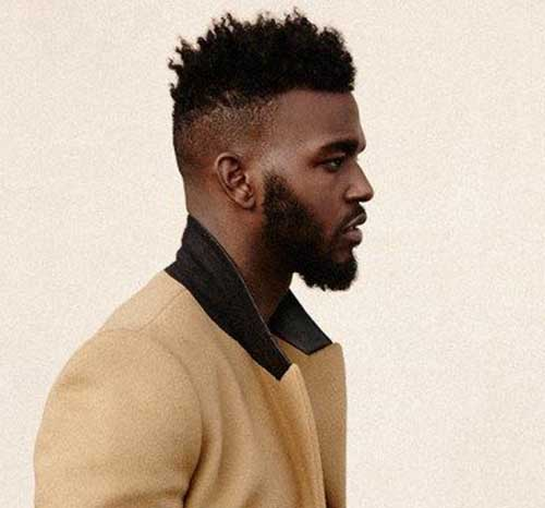 short hair styles for black men 25 black hairstyles mens hairstyles 2018 9642 | 25.Black Men Short Hairstyle
